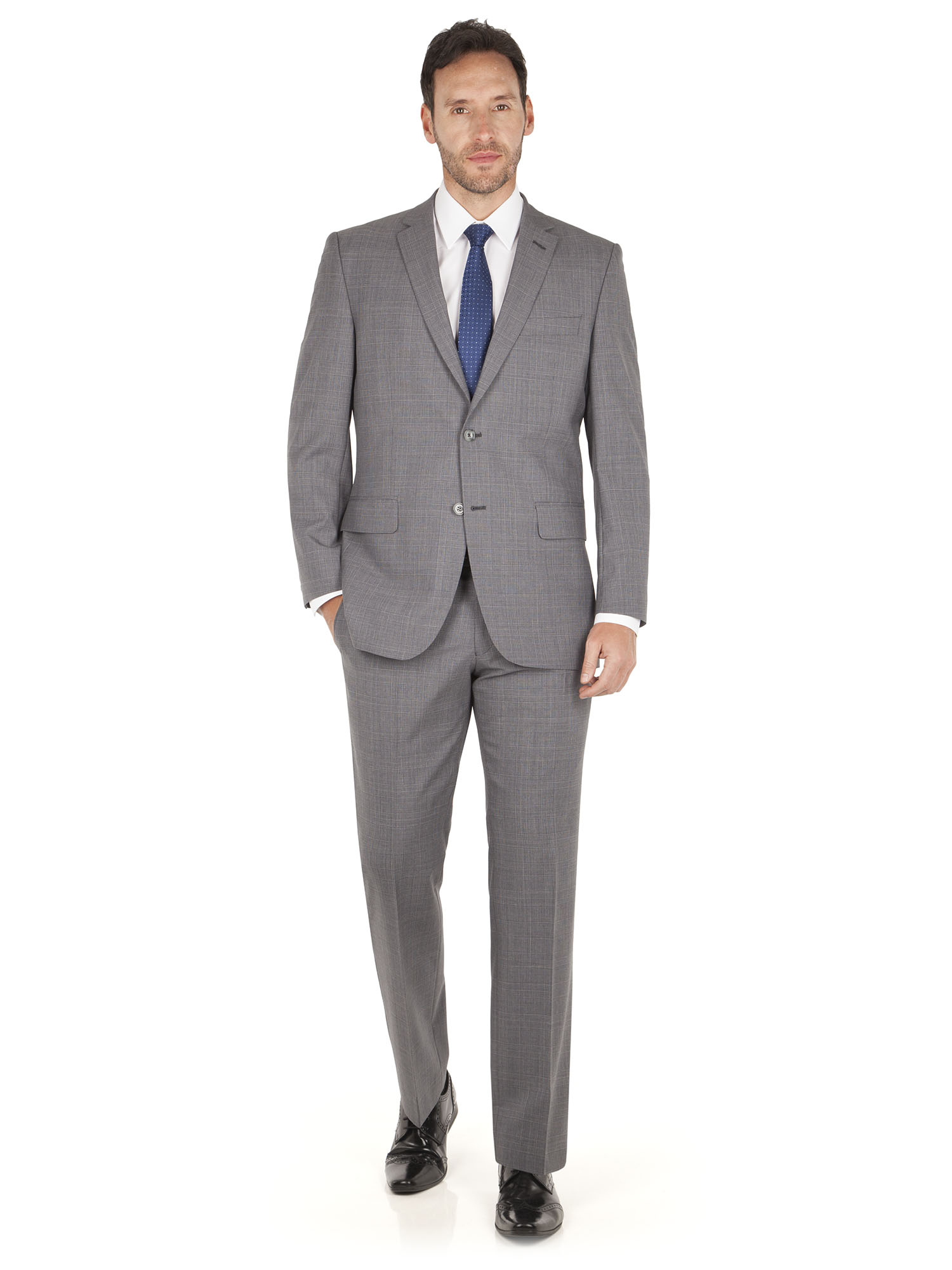 Regular Fit - Buy mens suits at M&S. Discover our wide range of fits and styles for mens suits. Buy suits online at M&S.